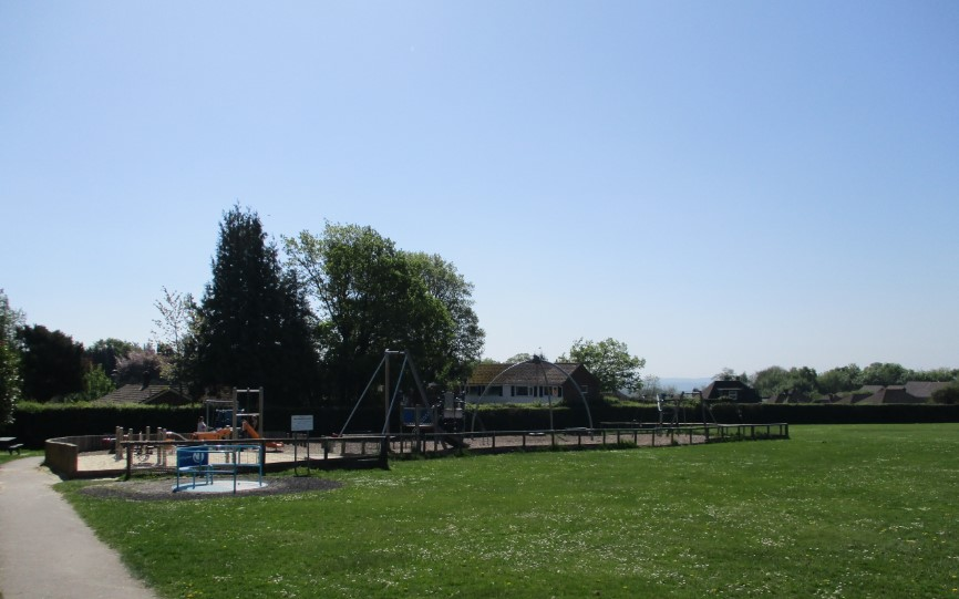 Play park at Wolfe Rec