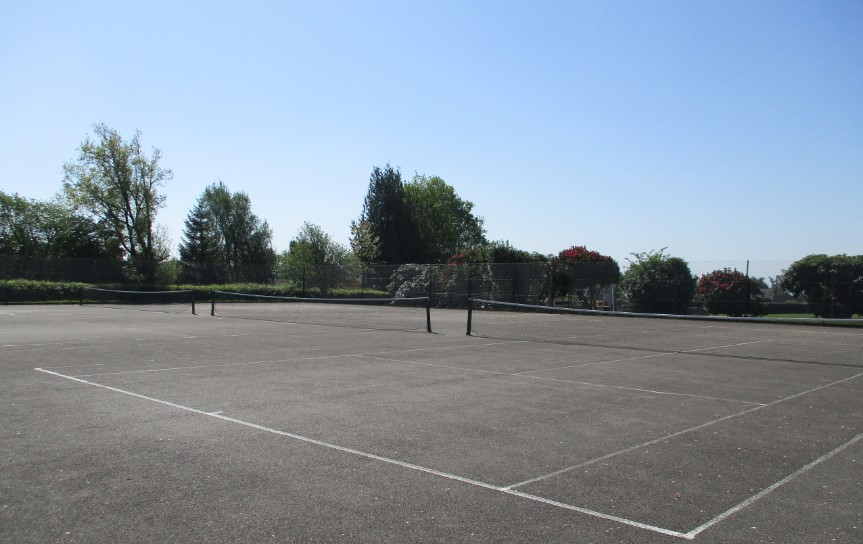 Tennis Courts at Wolfe Rec