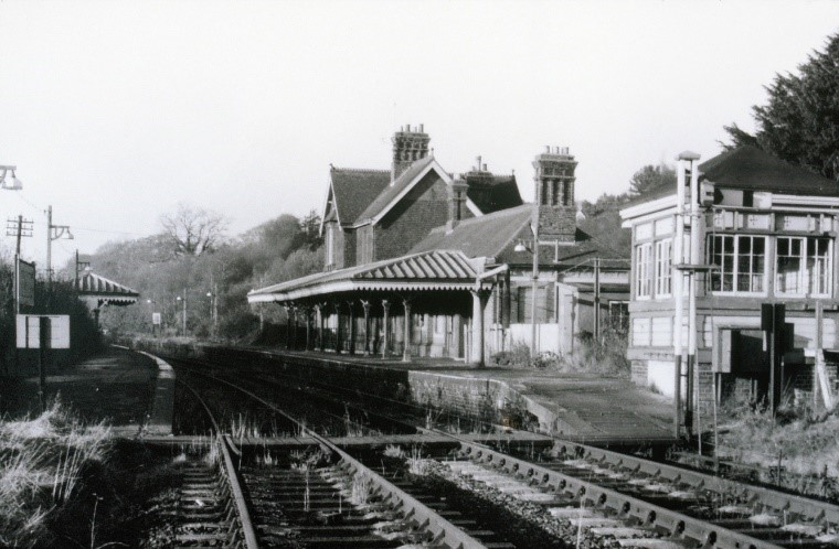 Historical photo of the cuckoo trail